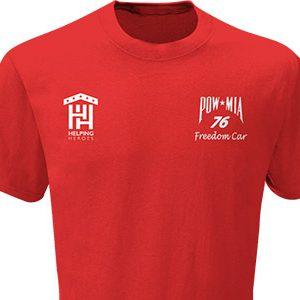 Freedom Car T-shirt Red