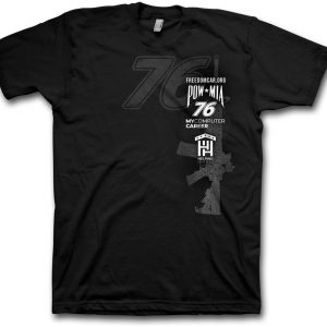 Freedom Car T-shirt Black