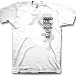 Freedom Car T-shirt White
